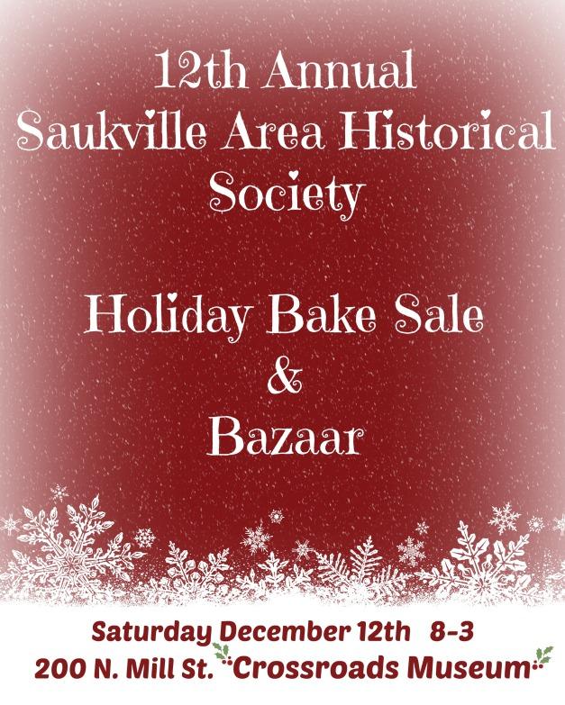 Bake sale poster 2015